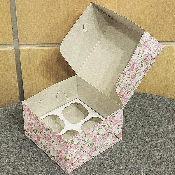 Коробка для кексов как сделать 787